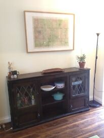 ** URGENT SALE ** Glass Fronted Sideboard / Cabinet