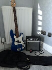 3/4 Bass Guitar in very good condition