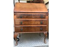 Lovely Antique Writing Desk / Beureau. Excellent Condition. Can Deliver.