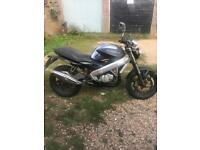 Cagiva planet 125 with 12 months mot