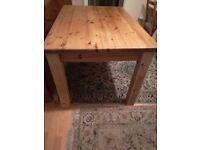 Pine Chunky Table