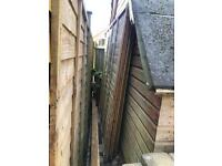 3 Fence Panels (6ft)