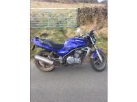 Kawasaki er500 SWAP any think ??