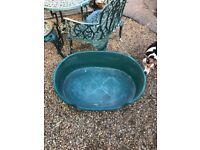 Large rigid dog basket