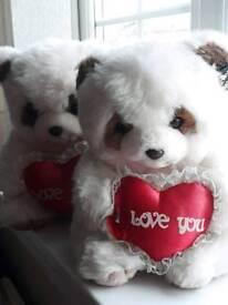 Valentine love bears