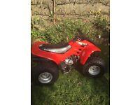 sold honda trx 90 quad bike sold