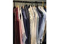 Men's shirts medium /15.5. 25 shirts for £25.00