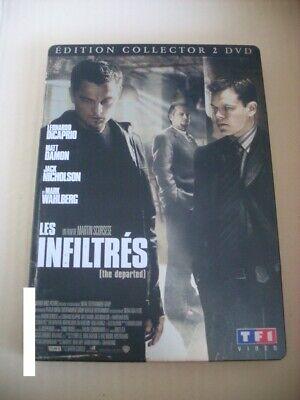 dvd film action thriller LES INFILTRES steelbook édition collector 2 dvd rare