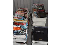 Complete set of Empire magazines inc extras.