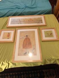 4 pic frames all for £10