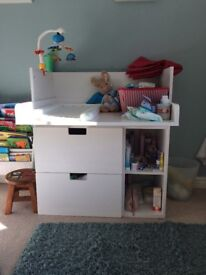 Ikea baby changing unit - very good condition