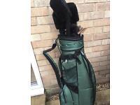 Regal golf clubs and bag