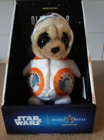 Oleg as bb8 meerkat toy, brand new/boxed