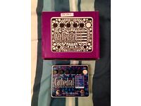 Cathedral stereo reverb pedal for sale!