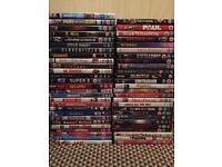 Job lot of 53 DVD's