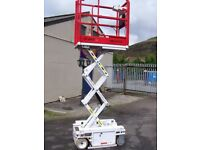 Sissors work platform Hy-Brid electric lifting platform