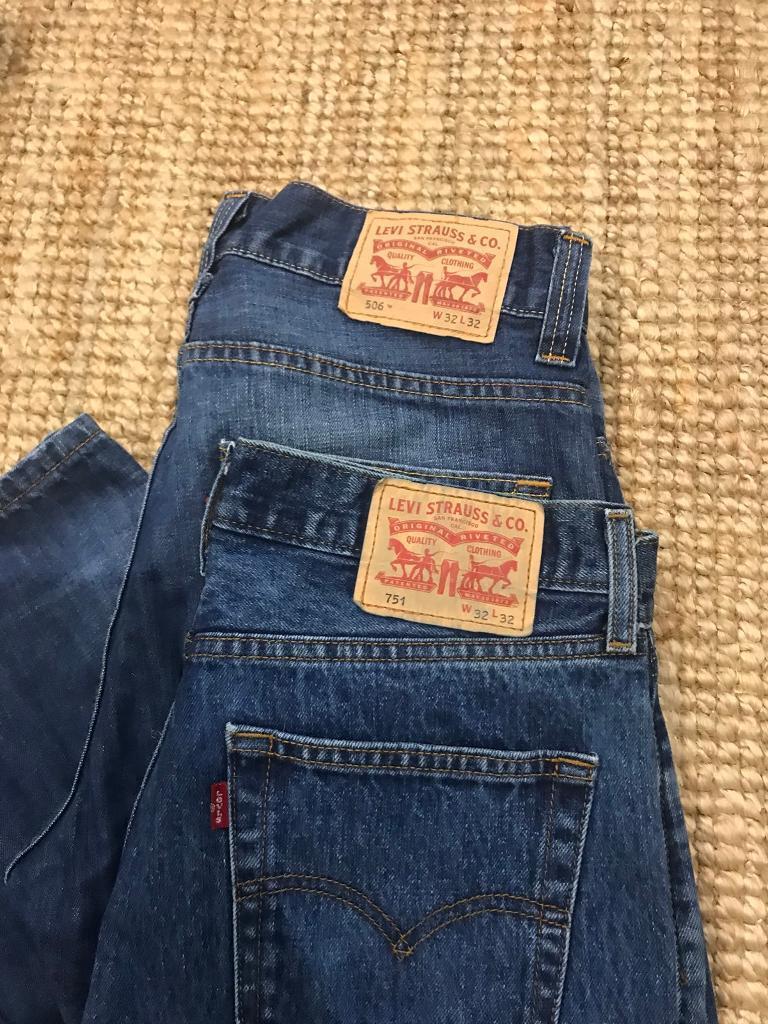 Men's Levi Jeans W32 L32