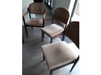 6 dining room chairs.