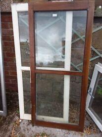 FREE 2 hardwood windows