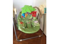 Fisher Price Rainforest Baby Swing Chair