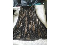 Sparkly evening dress size 10,as new