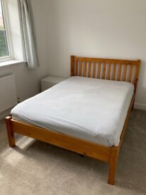 Double bed and mattress - open to offers