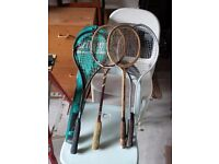 Racquets to sell