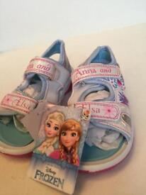 Frozen Disney Elsa and Anna sandles