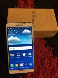 Samsung galaxy note 3 white Unlocked 32 GB excellent condition