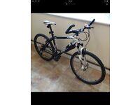 Unisex mountain bike SARACEN £145 Coming with lights and locker