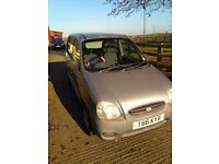HYUNDAI ATOZ 1.0 1999 manual 5 door hatchback 843862 miles MOT until SEPTEMBER