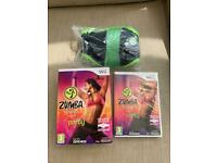 Zumba Fitness with Wii Remote Belt BOXED Brand New (Nintendo Wii, 2010)