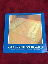 Glass Chess Game £20