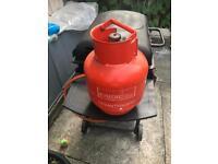 Calor gas barrel empty 3.9kg propane