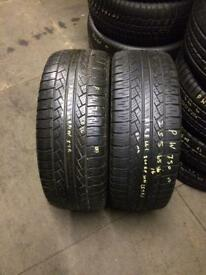 2 PW 255 65 16(109H) Pirelli Scorpion STR M+S Tread 4mm-5mm