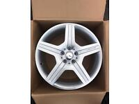 "GENUINE ORGINAL 19"" MERCEDES AMG ALLOYS- FULL SET OF 4 BOXED- S CLASS CLS CLASS"