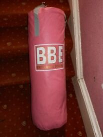BBE PINK BOXING PUNCH BAG 18KG 3 FT NEW