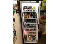 Tefcold upright fridge