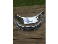Honda Goldwing GL1500 chrome windscreen trim and vent