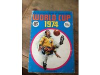 1974 Picture Stamp Album World Cup