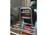 Vespa foldable back rack