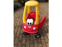 Little Tikes Crazy Coupe Car