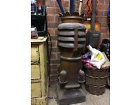 Large vintage chimney pot