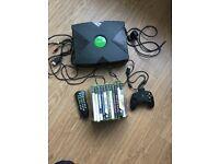 Original Xbox and 11 games