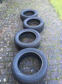 4 Winter tyres - Bridgestone Blizzak LM-25 4x4 235/55R18 100H