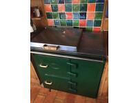 Everhot range cooker (aga type)