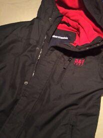 Abercrobie black jacket and Nike black jacket