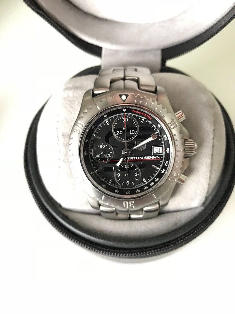 136b95b6774 Tag heuer link limited edition ayrton senna automatic chronograph watch JPG  768x1024 Tag heuer senna ct2114