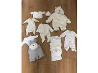 Tiny baby clothes unisex