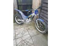 Sherco 290 trials bike not gas gas beta